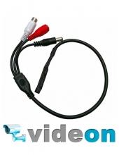 Активный CCTV микрофон для DVR видеорегистратора с ару недорого