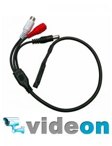 CCTV микрофон для видеорегистратора с ару на 3 разьемах опт