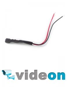 Активный  CCTV микрофон для видеонаблюдения АРУ для спайки