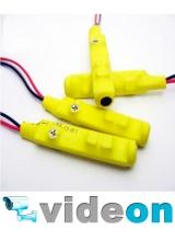 Активный  CCTV микрофон для видеонаблюдения с АРУ для спайки на проводах  с тонкой настройкой оптом
