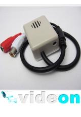 Мощный CCTV микрофон в коробе  с АРУ  на разьемах с тонкой настройкой