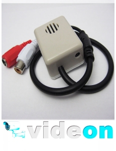 Активный  CCTV микрофон в коробе для видеонаблюдения с АРУ  на разьемах с тонкой настройкой оптом