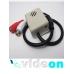 Активный  CCTV микрофон в коробе для видеонаблюдения с АРУ  на разьемах с тонкой настройкой