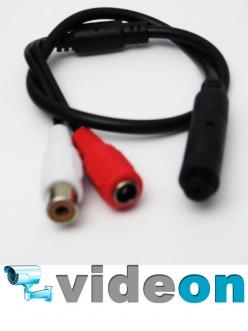 Купить Активный CCTV микрофон для камеры с АРУ для видеорегистратора DVR - Низкие Цены