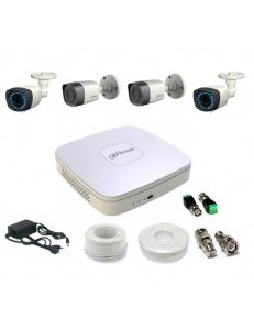 Внутренний HDCVI комплект видеонаблюдения VidiMost DH-2/4