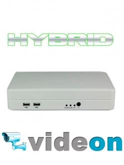 INTERVISION  iDR-802 цифровой видеорегистратор  8-х канальный гибридный, 1200 TVL Самые Низкие Цены в Украине
